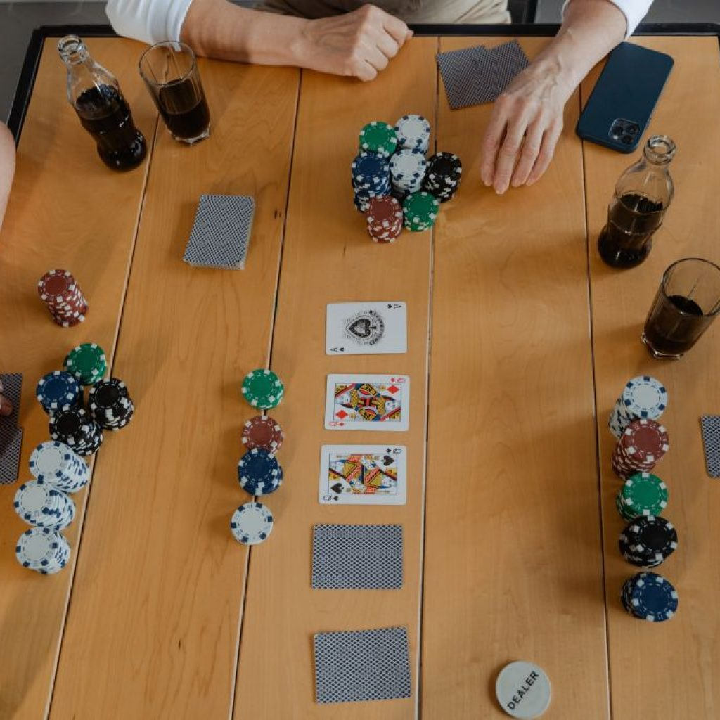 partie poker ami